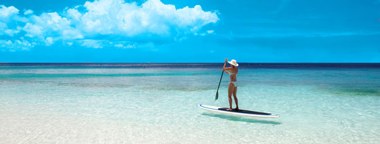 A Beginner's Guide to Using Stand Up Paddle