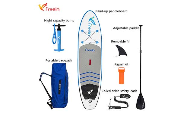 "All Around Paddle Board 10'2"", FSA-310DB Photo 3"