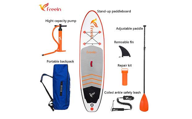 "All Around Paddle Board 10'2"", FSA-310DW Photo 3"